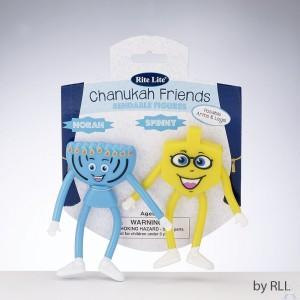 Chanukah Bendable Friends