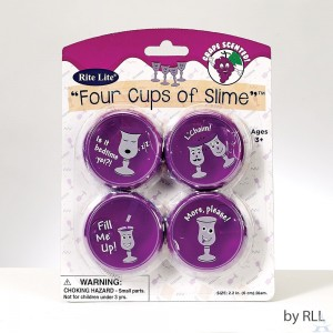 "Passover ""Four Cups of Slime"""