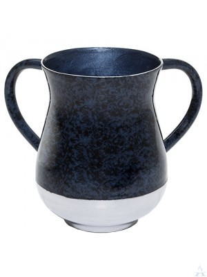 Wash Cup Aluminum Blue