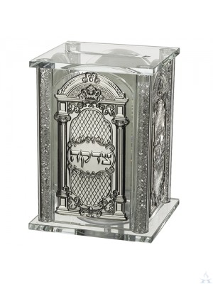 Tzedakah Box Crystal